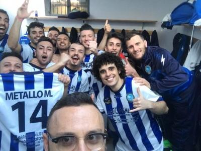 Selfie vittoria del Bisignano Magic Games