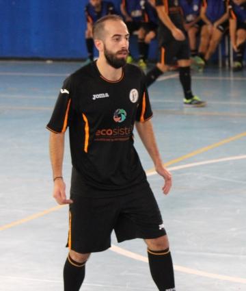Antonio Gerbasi (Lamezia Soccer) in azione