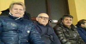 Il tecnico della Reggina Maurizi sabato scorso a Lazzaro per assistere a Futura-Catania