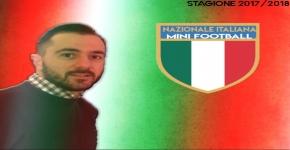 Bovalino, Andrea Scordino Responsabile Marketing della Nazionale di Mini Football