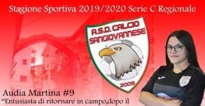 Rientro d'eccellenza in casa Sangiovannese: Martina Audia c'è!