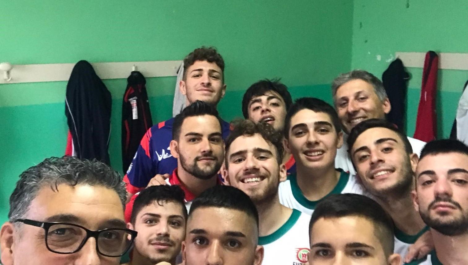 Selfie vittoria Futsal Polistena