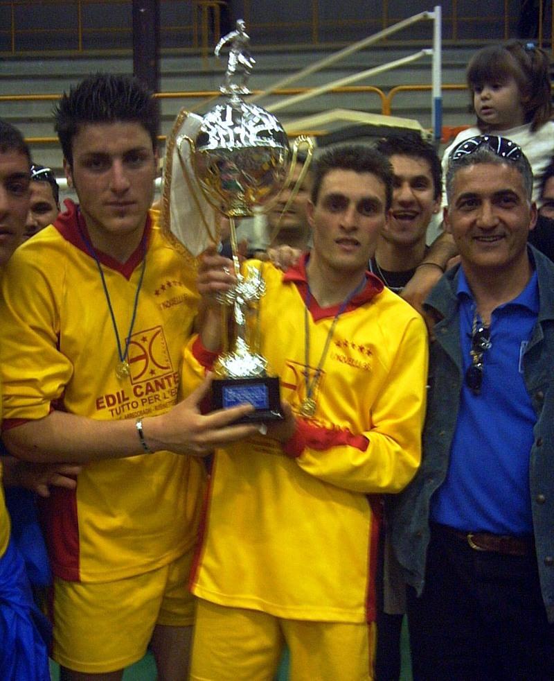 Torchia e Marino con Coppa