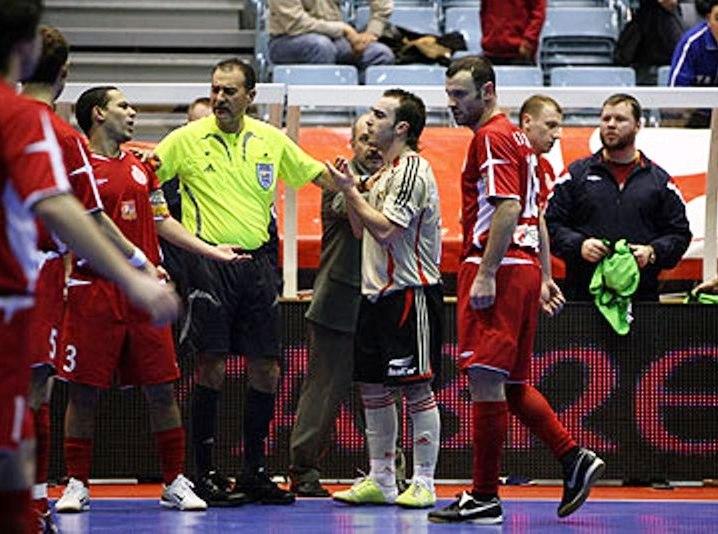 Benfica Spartak Coppa Coppe 2006 arbitro Vescio