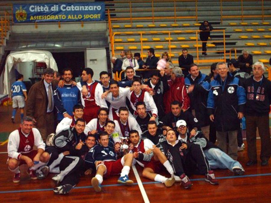 Real Reggio vincitrice Coppa Italia 05 06