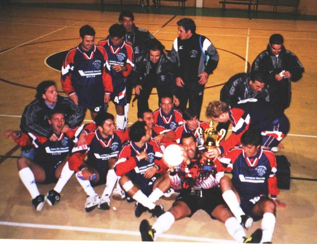 MAESTRELLI vincente Coppa Italia 1999 2000
