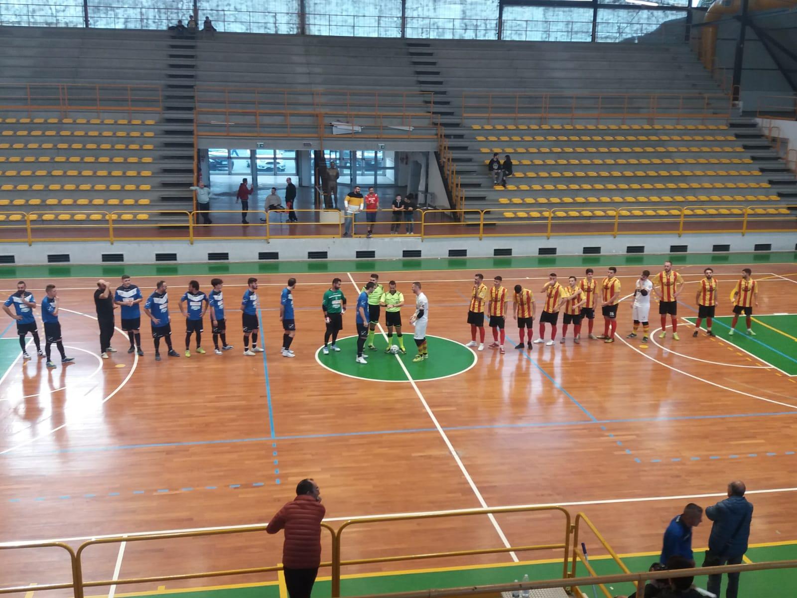 Le squadre ad inizio gara